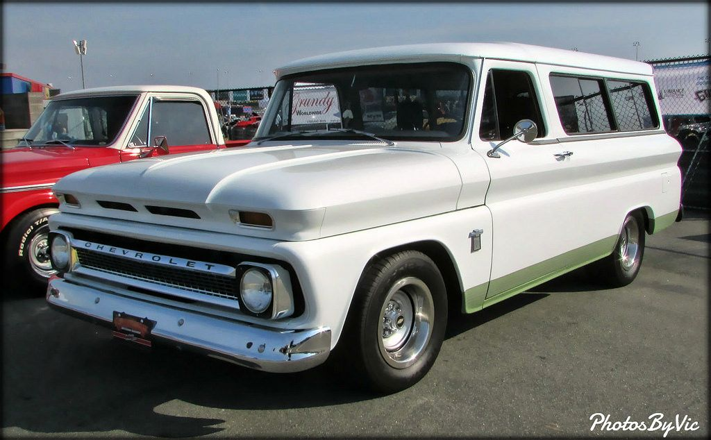 64 Chevy Suburban Chevy Back Road