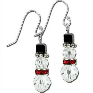 Crystal Snowman Earrings Google Search