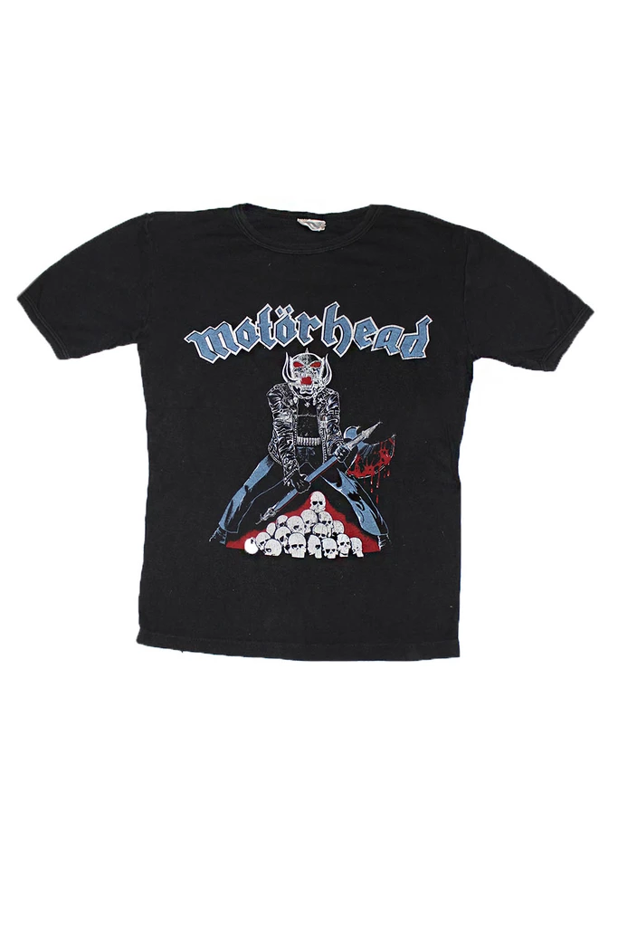Official T Shirt IRON MAIDEN Vintage Logo  Trooper Burnout All Sizes