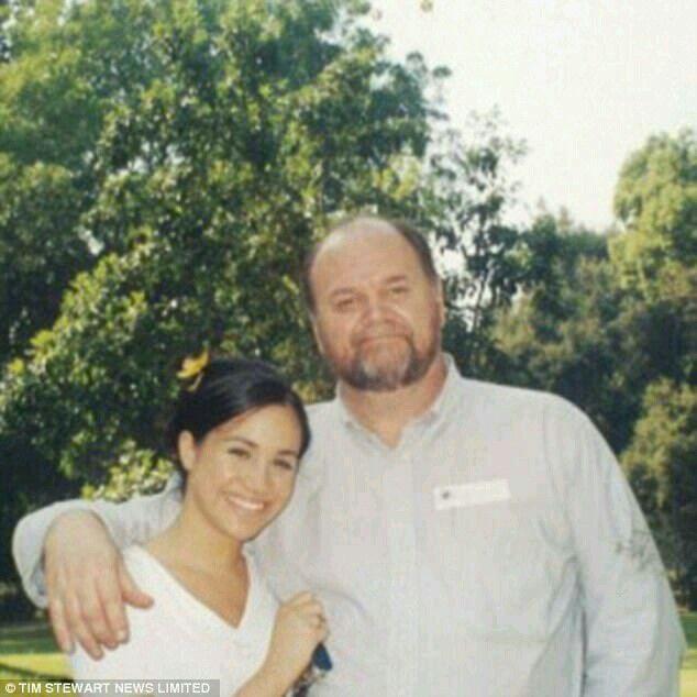 Meghan And Her Dad Thomas Wayne Markle