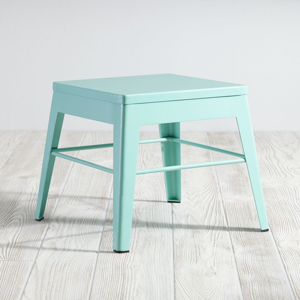 Groovy Squared Up Steel Mint Step Stool For My Home Kids Stool Lamtechconsult Wood Chair Design Ideas Lamtechconsultcom
