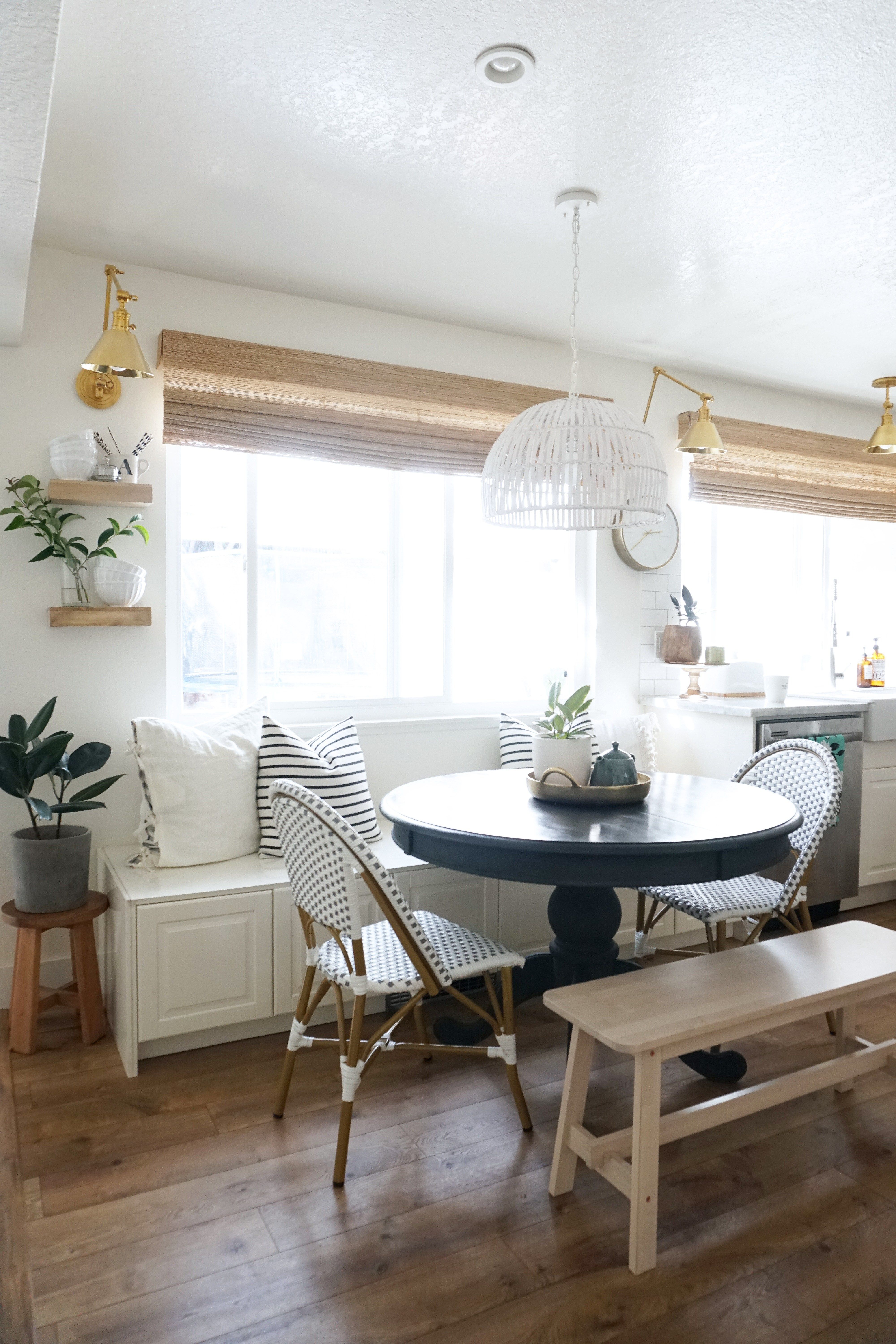 kitchen breakfast nook update this fall with images home decor kitchen breakfast nooks on kitchen nook id=80590