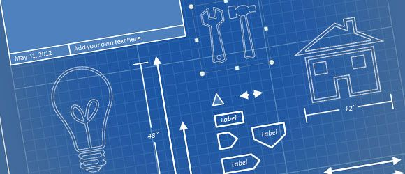 if you need to prepare a powerpoint presentation using a blueprint, Modern powerpoint