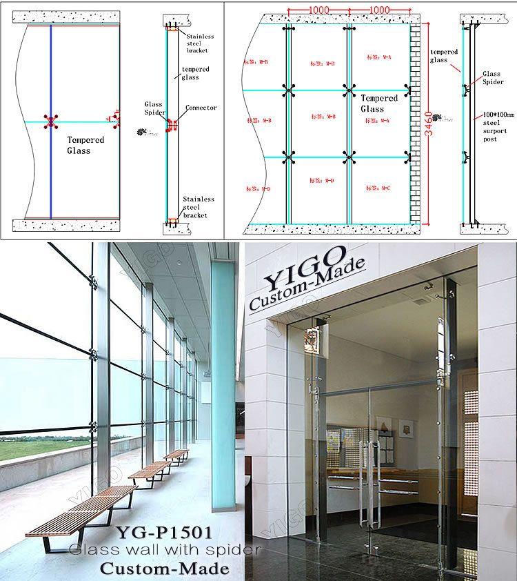 Tempered Glass Walls Frameless Glass Doors 750 842 Architectural Details