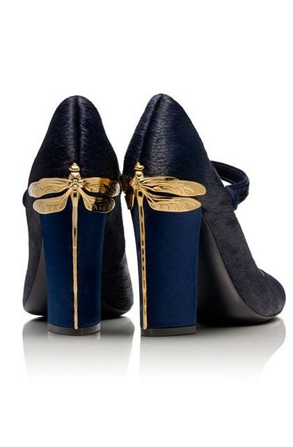 Dragonfly Heels - amazingly beautiful! by Tory Burch