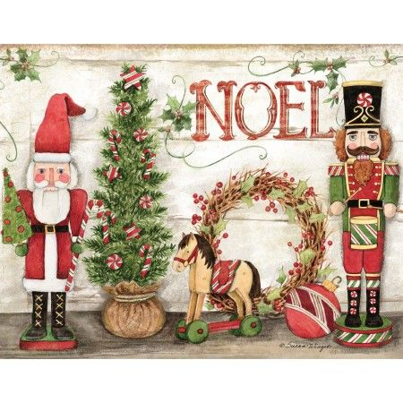 Holiday Nutcrackers Boxed Christmas Cards Natal Pinterest