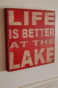 true that, Lake Granbury!