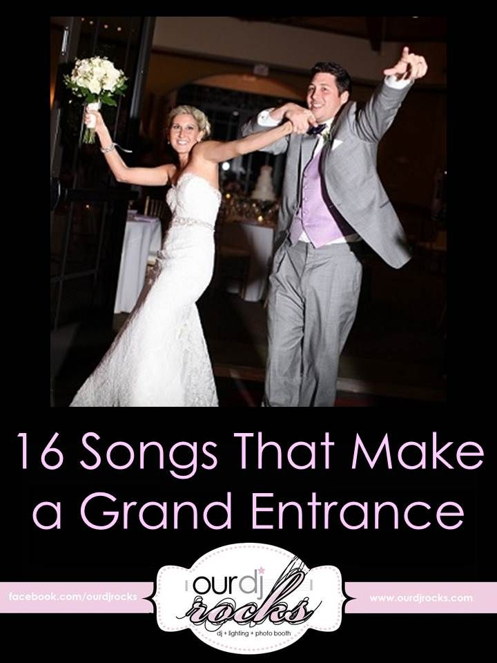 Wedding Songs Grand Entrance Songs Wedding Music Reception