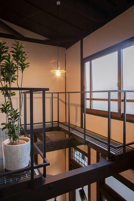 モダニズム町家 回廊の家 施工事例 ハウスデザイン 町家 家