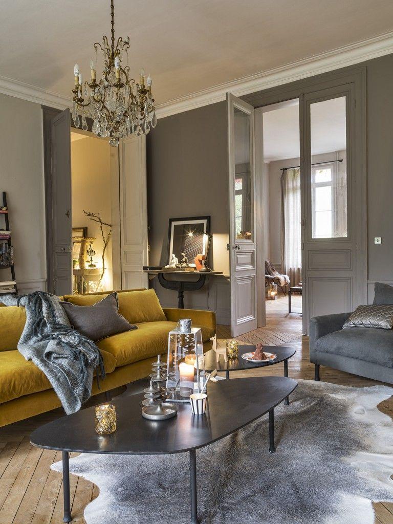 Charme romantique aux portes de deauville planete deco a homes world deco maison pinterest - Deco romantique salon ...