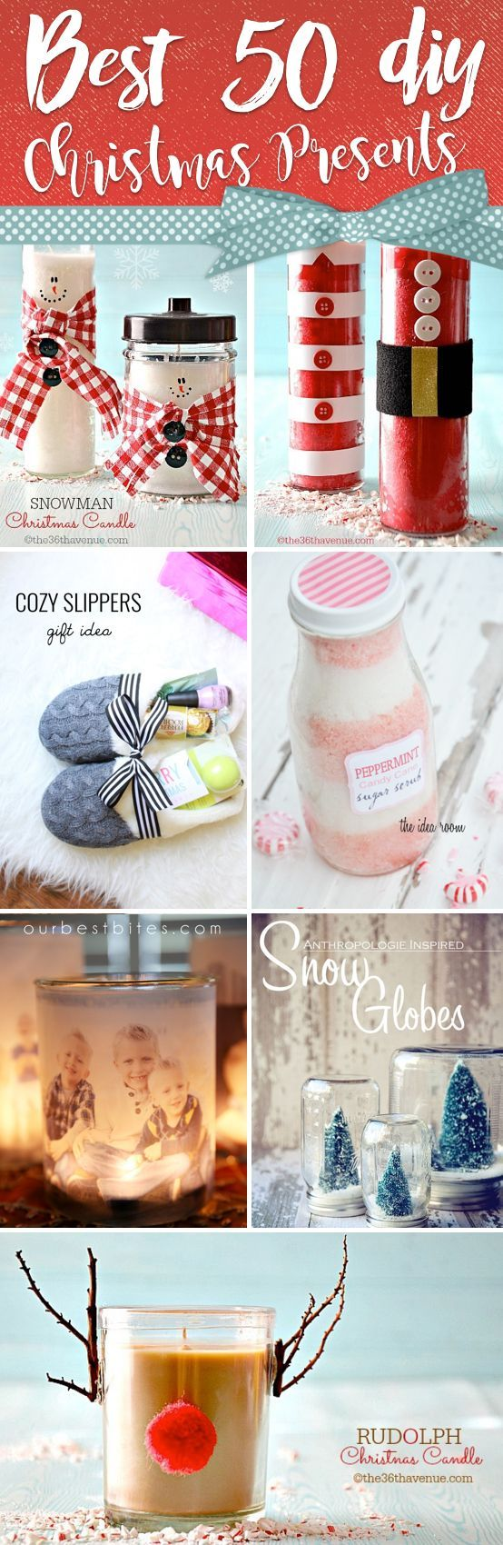 50 DIY Christmas Presents Reminding Your Loved Ones Of You For Years ...