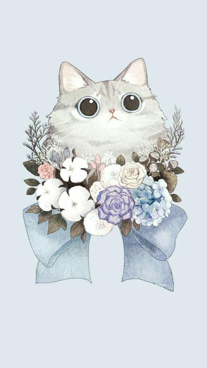 Pin By Sarahi Arrieta On Cute 3 Cute Cat Wallpaper Cat
