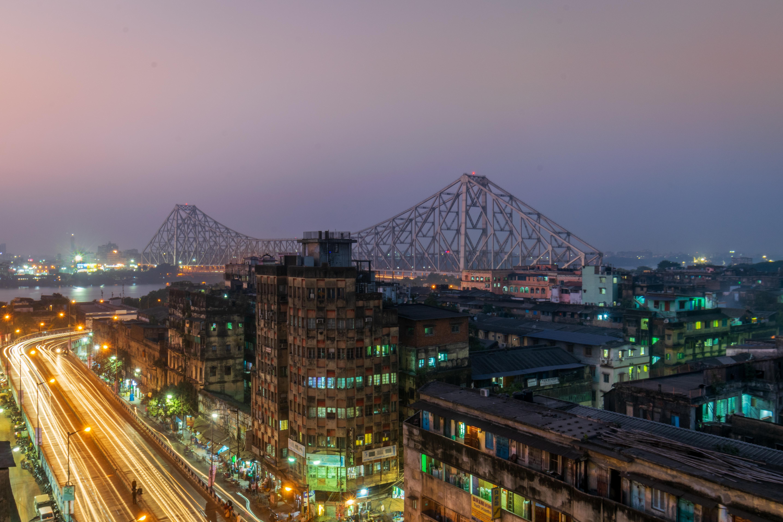 Kolkata India city cities buildings photography