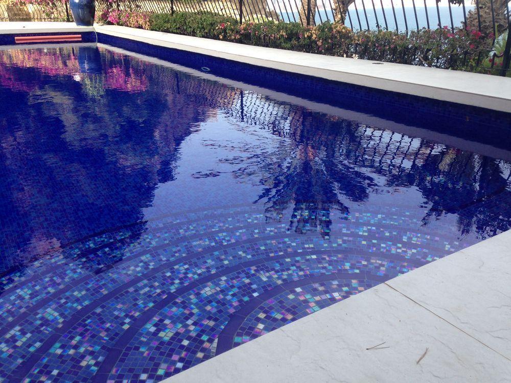 Pates De Verre Ocean Mosaique Piscine Carrelage Piscine Piscine