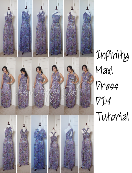 How to sew easy maxi dress