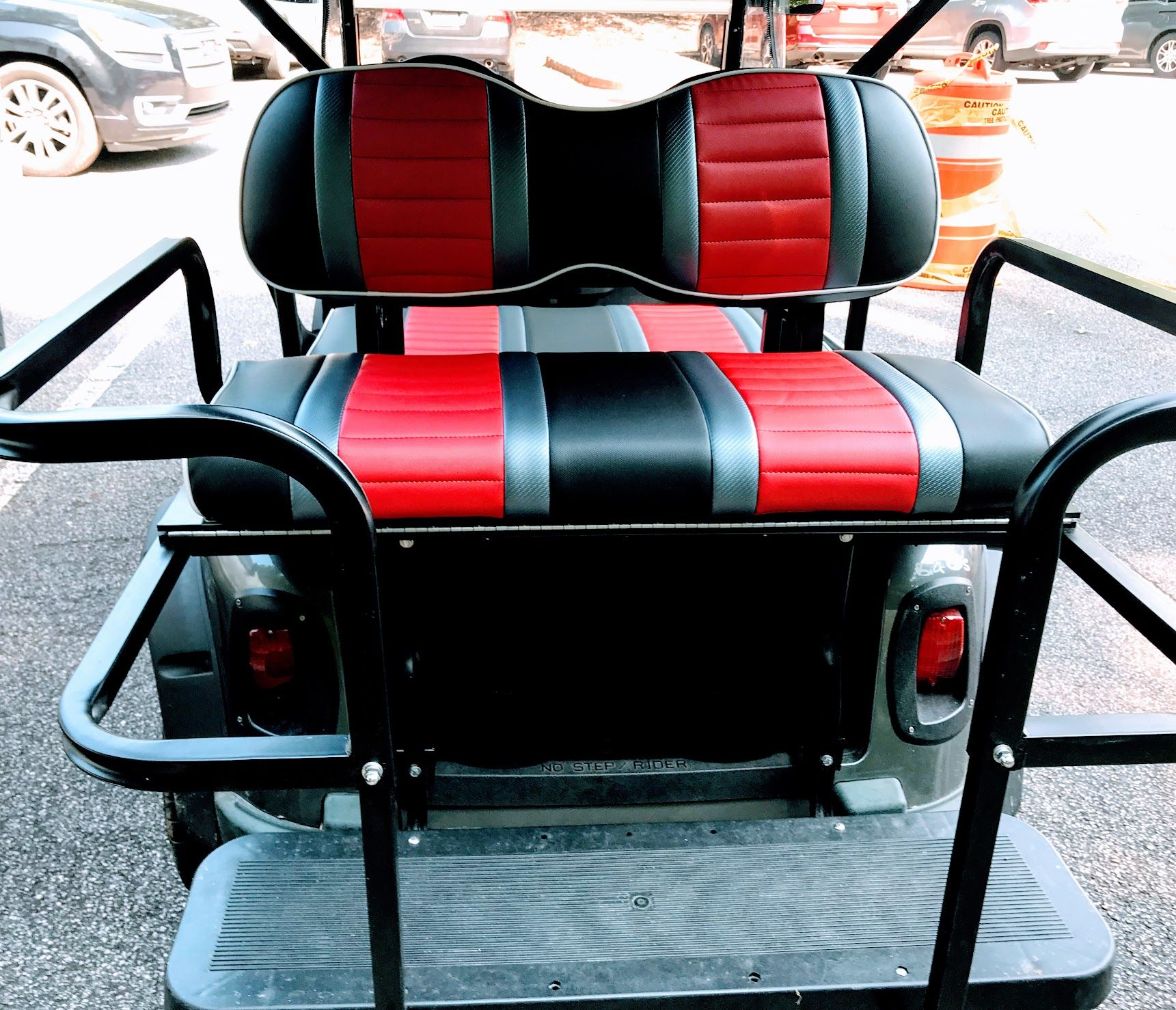 Golf Cart Rear Seat Get a Kit, Turn Your Cart into a 4