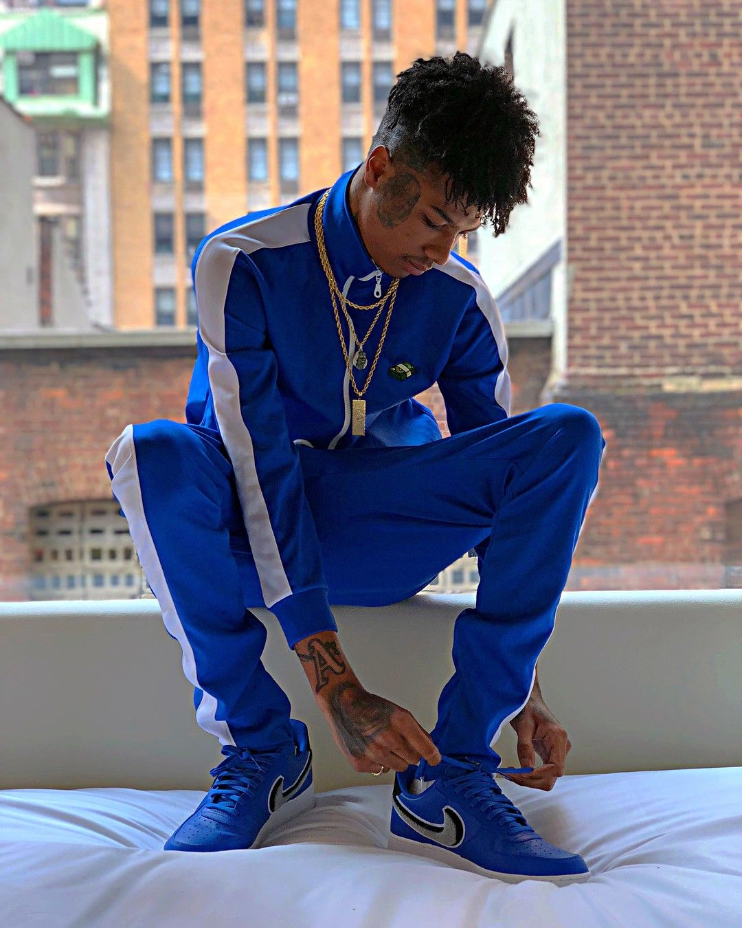 Pin by Zahracoates on Blueface Rapper outfits, Rapper