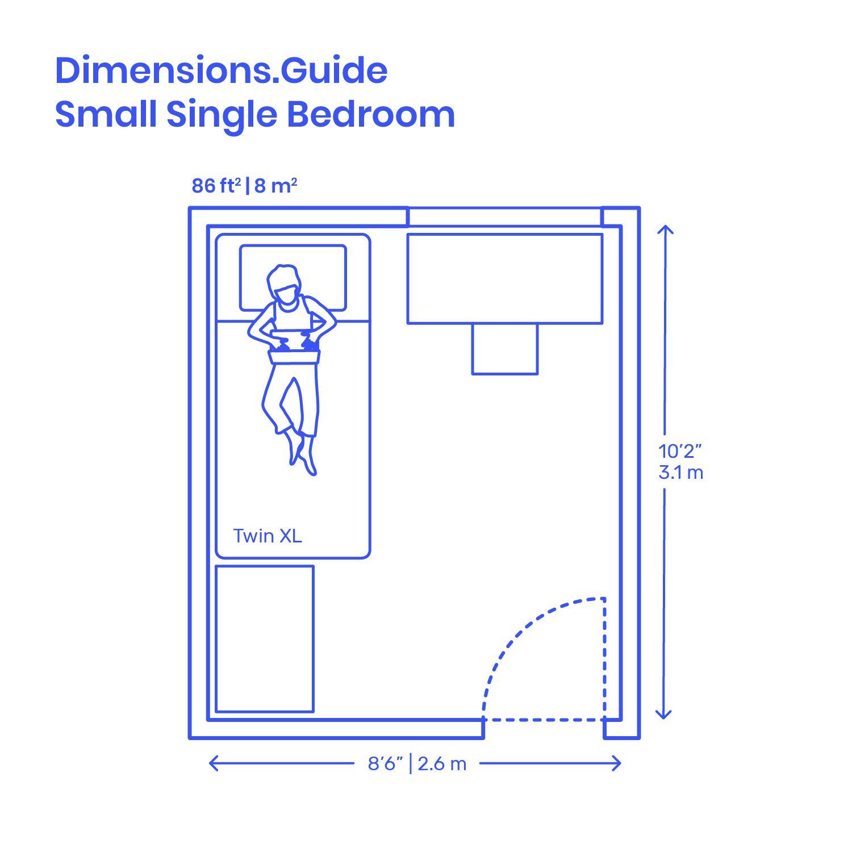 Small Single Bedroom Layouts  Single bedroom, Bedroom layouts