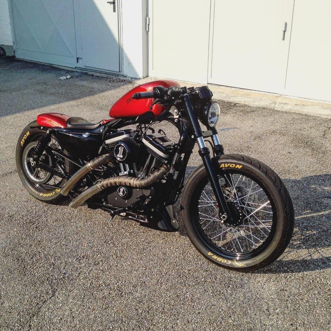 Harleydavidsonsporster Sportster Bobber Bobber Motorcycle Harley Bobber