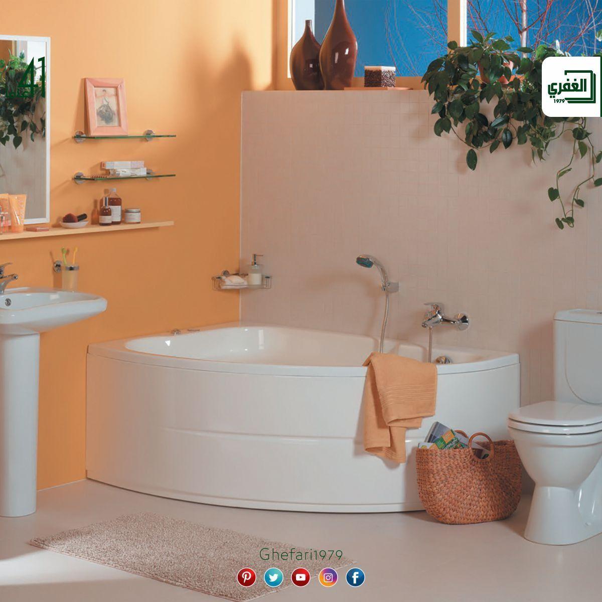 من شركة Vitra Turkiye بانيو شراع اكريليك متوفر مقاسات 150x100 Cm للمزيد زورونا على موقع الشركة Https Www Ghefari Com Ar Vit Corner Bathtub Bathtub Bathroom