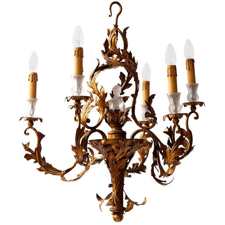 Gilt wrought iron chinoiserie style chandelier chinoiserie gilt wrought iron chinoiserie style chandelier aloadofball