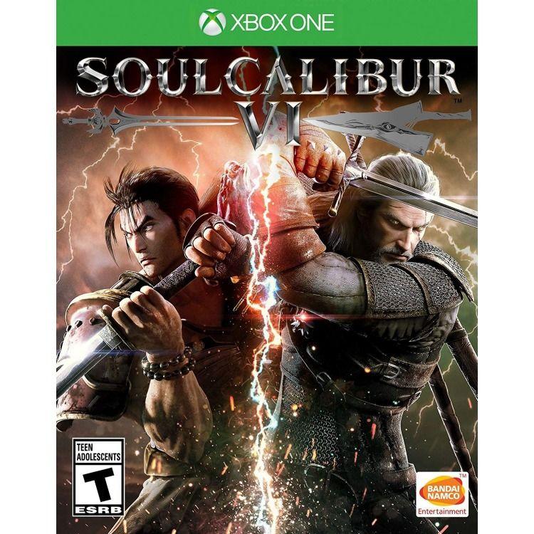 Soulcalibur Vi Soul Calibur Xbox One Games Fighting Games