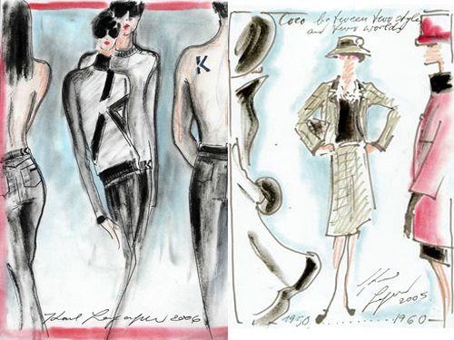 75 best Karl lagerfeld illustration images on Pinterest Karl lagerfeld 55