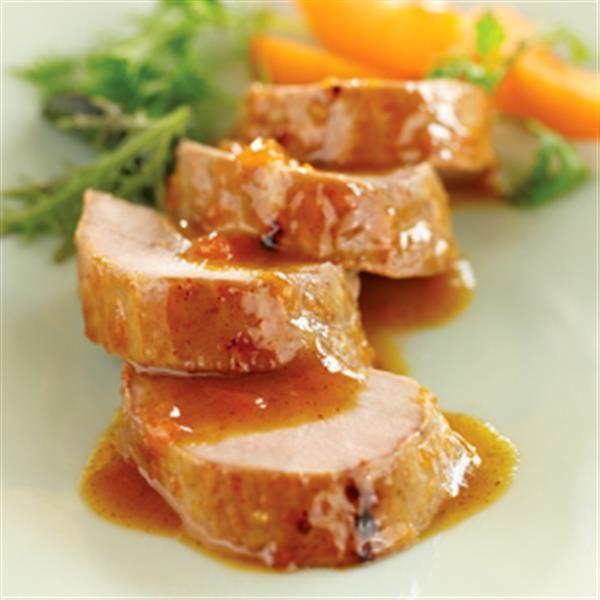 Savory Apricot-Mustard Sauce