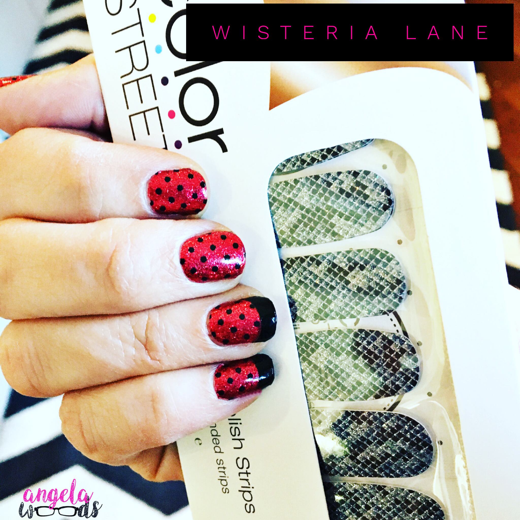 Fun polka dots! 100% real nail polish strips, easy to apply without ...