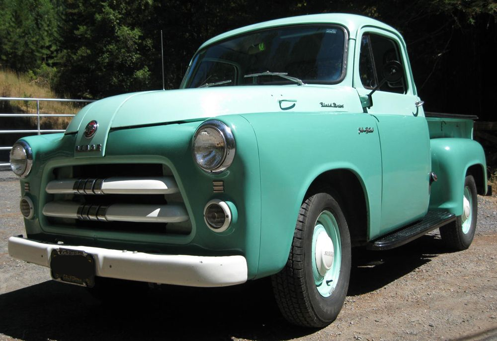 55 Dodge Sweptside Pickup Truck Pictures Page 5 | Desoto|Fargo ...