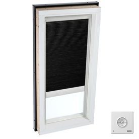 Velux 34 5 In X 34 5 In Solar Skylight Room Darkening Blind For