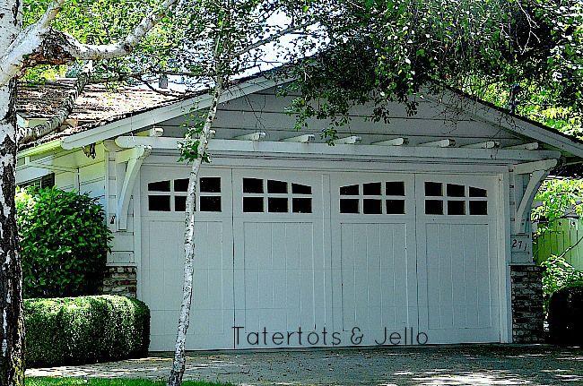 1905Cottage 12 DIY PergolaTrellis and Gate Ideas – Garage Pergola Plans