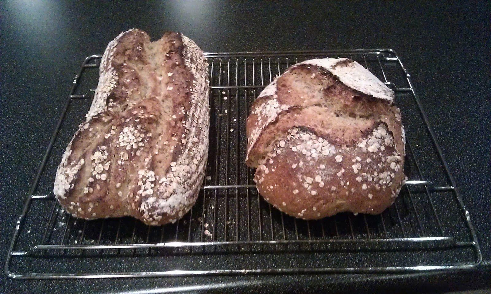 Havrebrød - OatSourdough Bread
