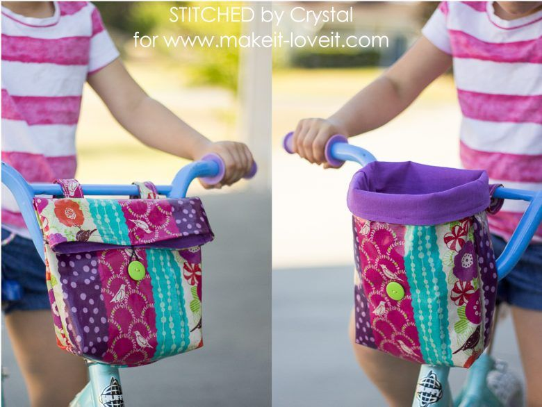 Sew a Handlebar Bag for your Kid's Bike!