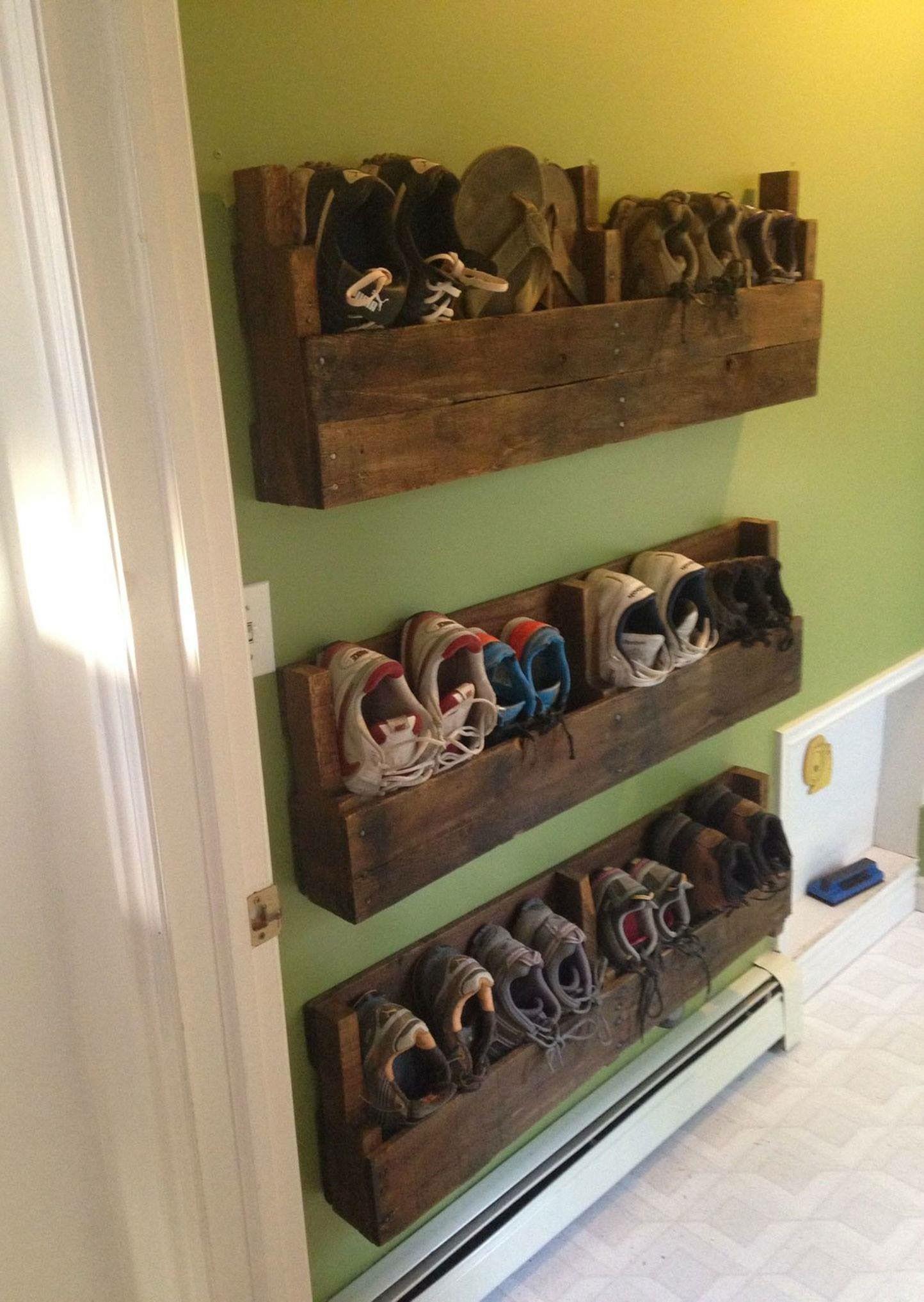 13 Praktische DIY Ideen Fürs Aufräumen Ihrer Schuhe   Seite 6 Von 13   DIY  Bastelideen