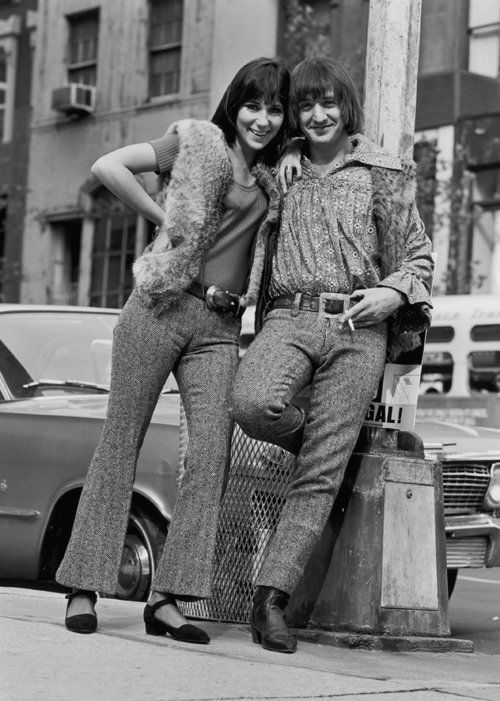 Cher and Sonny Bono in 1966