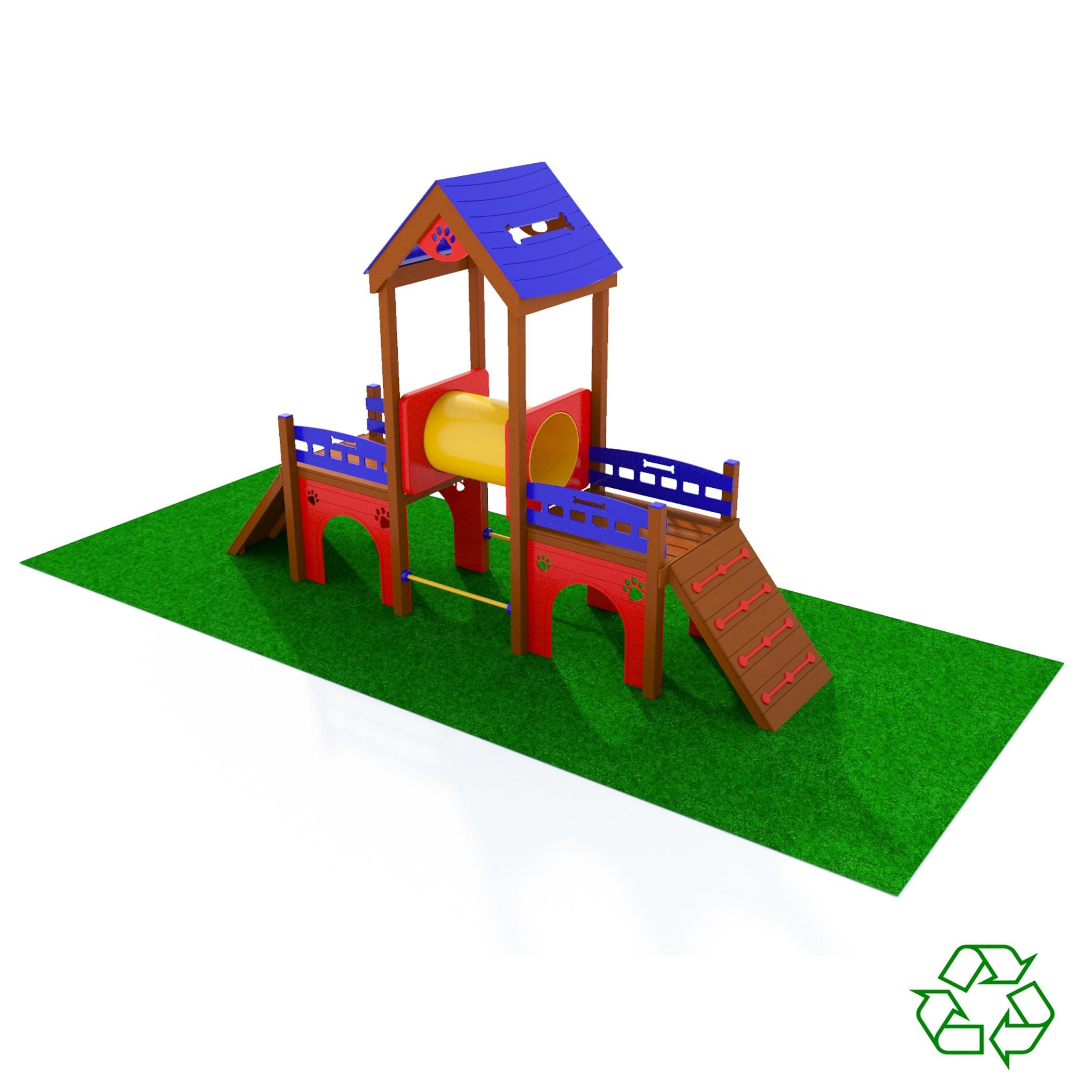 Kennel Club Playground | Dog playground, Outdoor toy ...