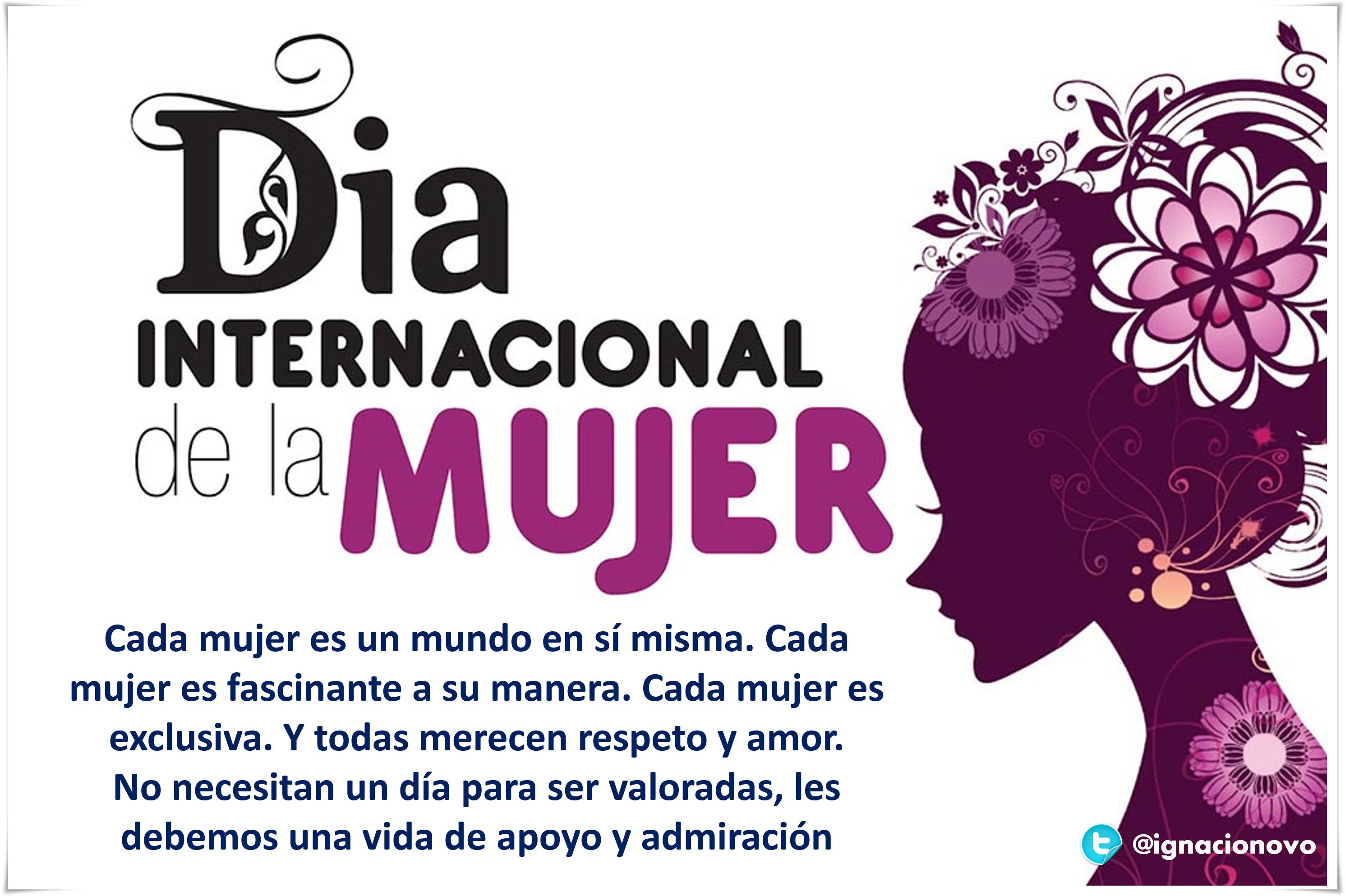 Mujer Diainternacionaldelamujer Feliz Día Internacional De La Mujer Feliz Día De La Mujer Dia Internacional De La Mujer