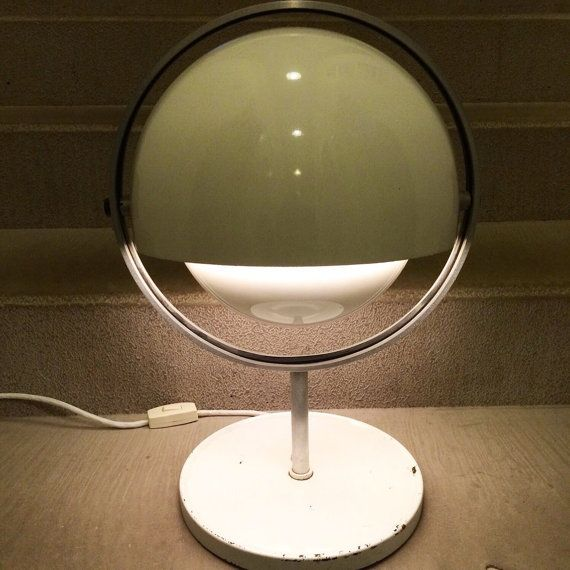 extremely rare piece of design from the space age era a unique table lamp moon - Unique Table Lamps