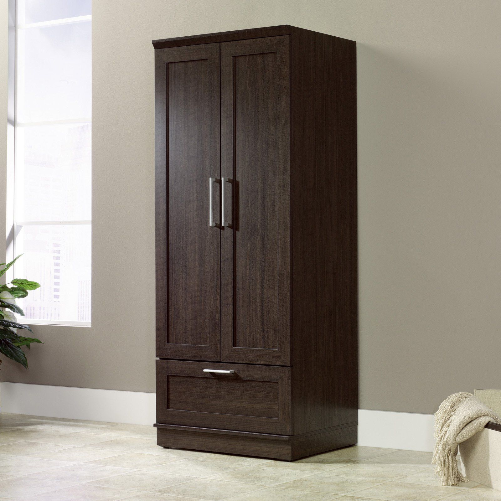 Sauder Homeplus Wardrobe Cabinet With