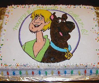 Coolest Kids Birthday Cake Photo Gallery Scooby Doo Cake