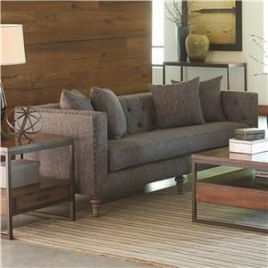 Ellery Sofa with Traditional Industrial Style Model Number