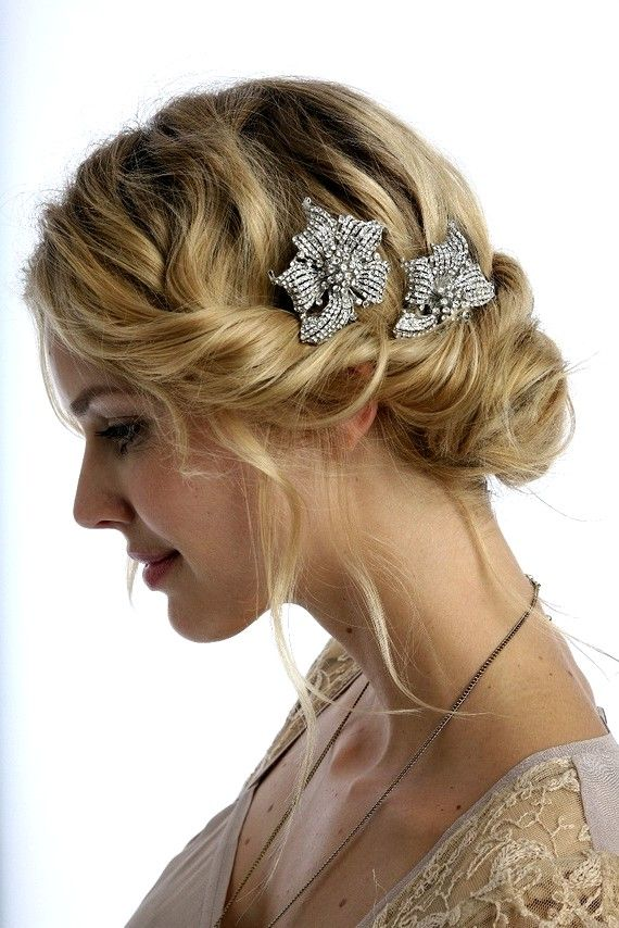 Tremendous 1000 Images About Wedding Hair Ideas On Pinterest Short Hairstyles Gunalazisus