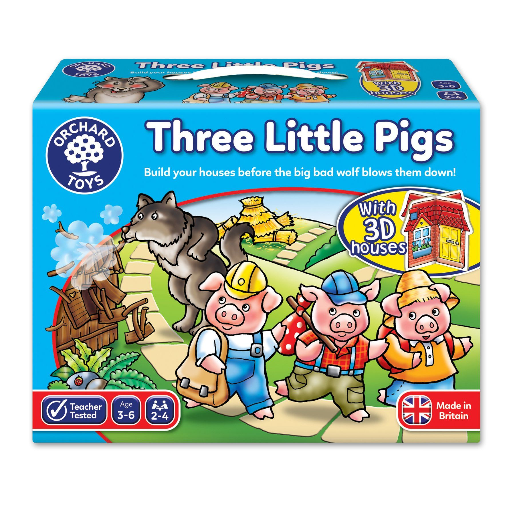 Orchard Toys Three Little Pigs Game Amazon Co Uk Toys Games In 2020 Orchard Toys Pig Games Little Pigs A quiz by starline gamez. pinterest