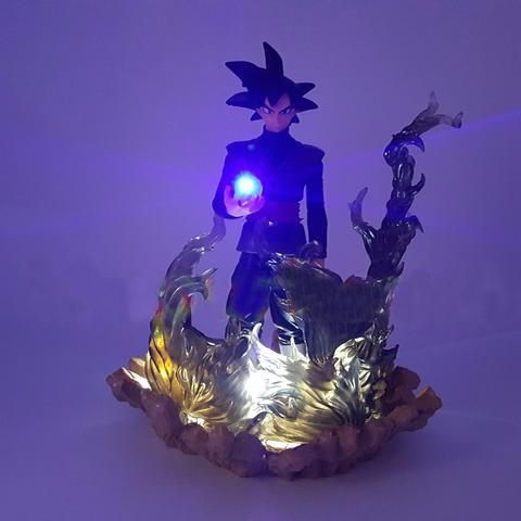 Led Night Lights Led Lamps Dragon Ball Z Goku Diy Led Lighting Lamp Anime Dragon Ball Z Super Saiyan Fes Dbz Son Goku God Led Night Lights Luces Navidad