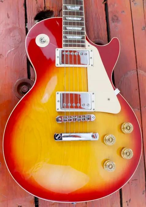 Gibson Les Paul Standard 1996 Cherry Sunburst | Guitars, Les