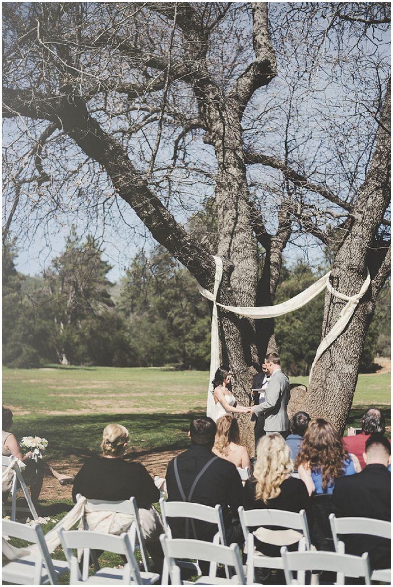 Outdoor Spring Wedding Park wedding ceremony, Park