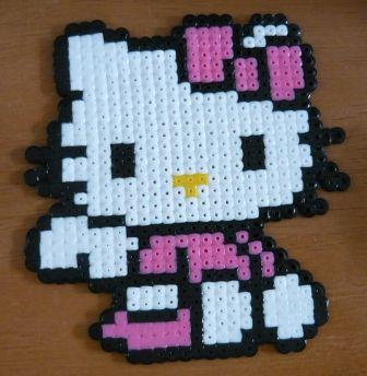 Hello Kitty Engel hama perler