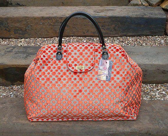 Weekender Tasche, große Teppich-Tasche, Mary Poppins Bag ...