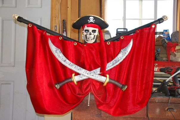 Halloween Discussion Forum, Haunts and Home Haunt Community Trunk - halloween pirate decorations